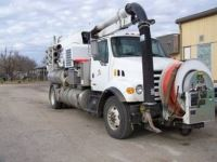 Sewer Line Utility Truck