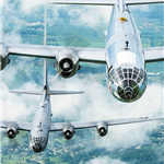 B-29s-Doc-and-FIFI-By-Scott-Slocum