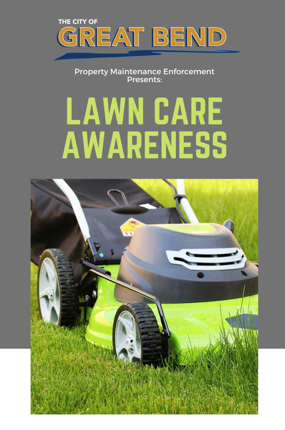 Lawn Care Awareness