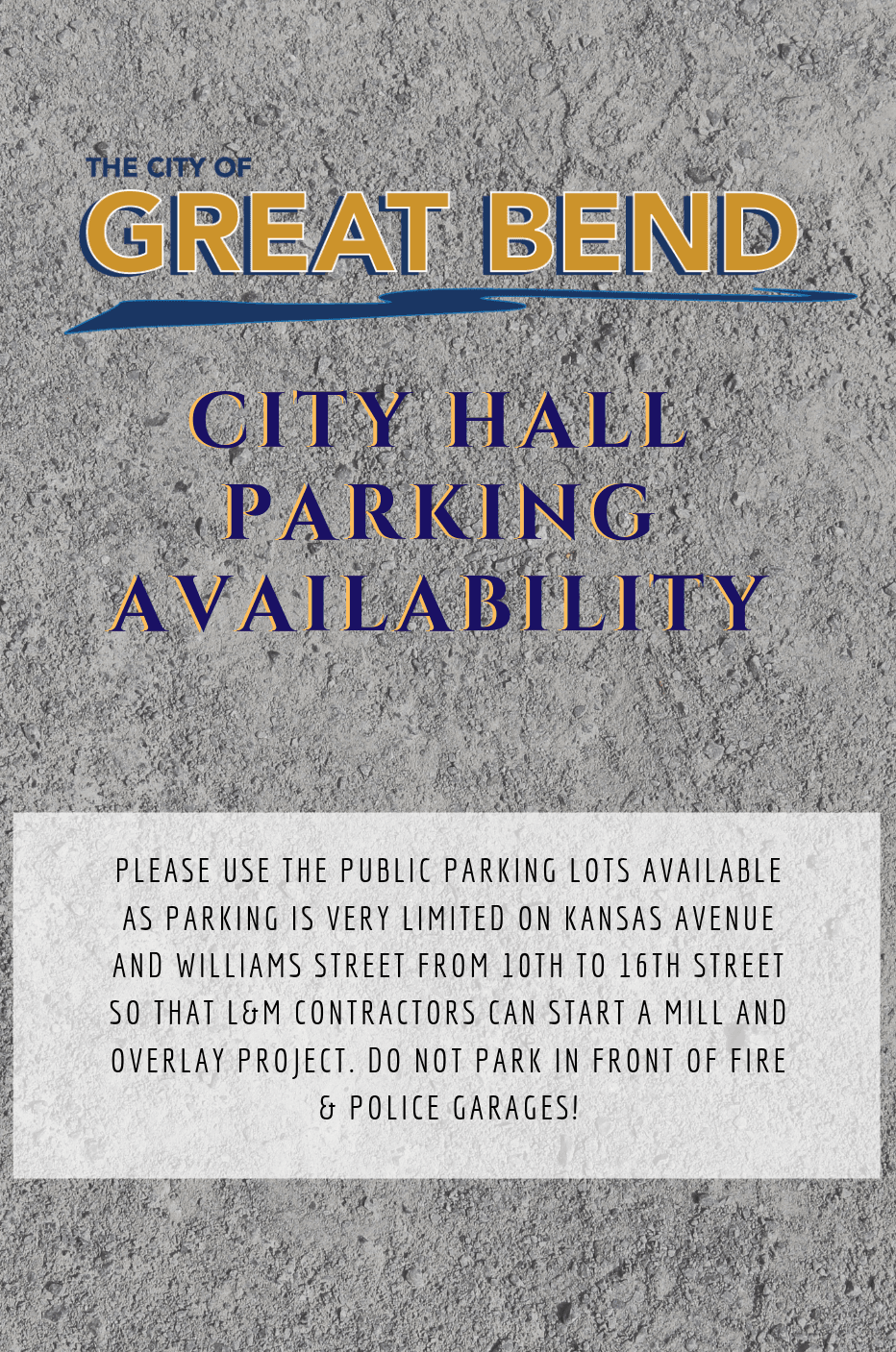 city hall parking