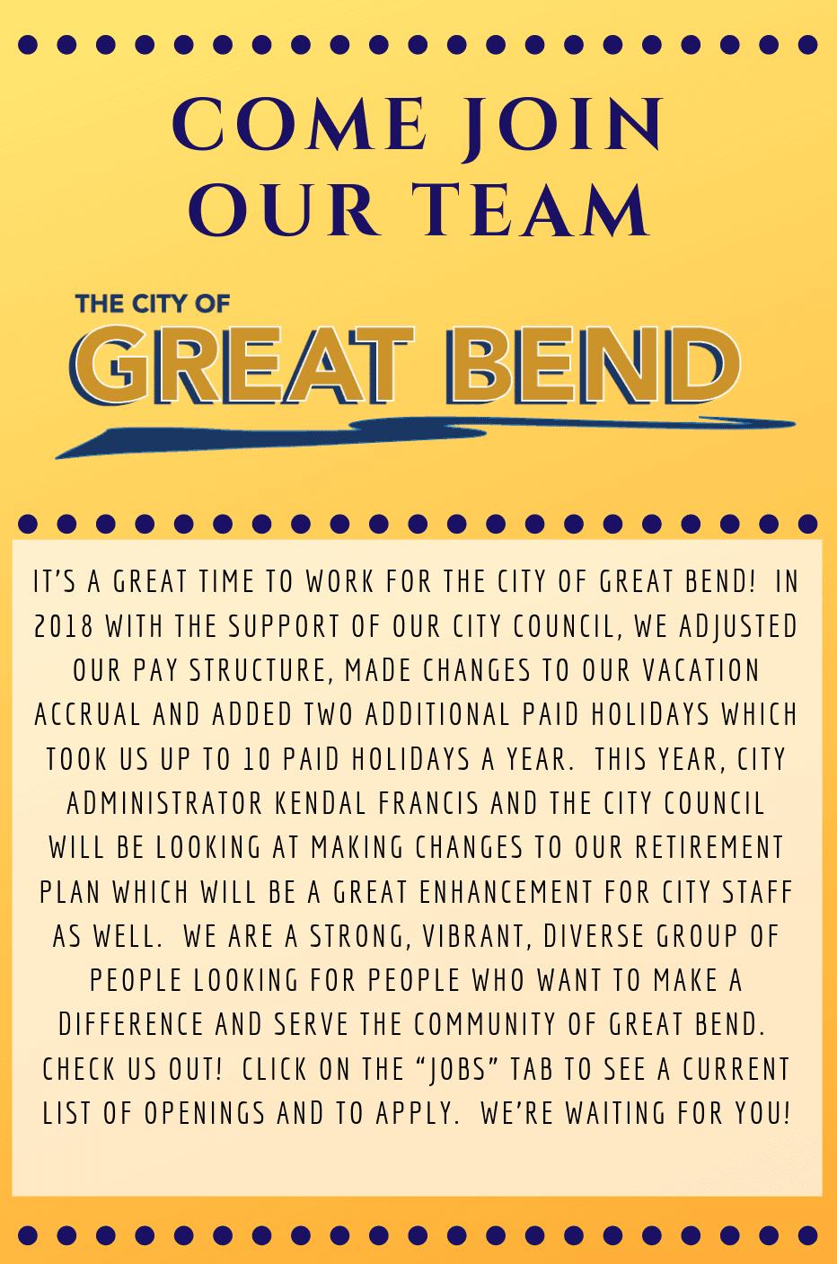 Great Bend, KS - Official Website