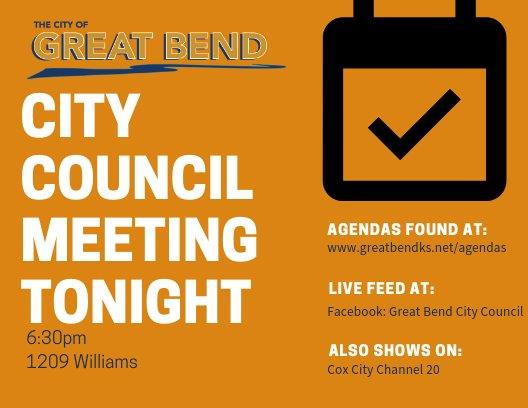 City Council Meeting tonight (3)