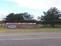Fuller facilities sign