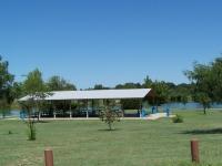 Large Shelter at Vet's Park